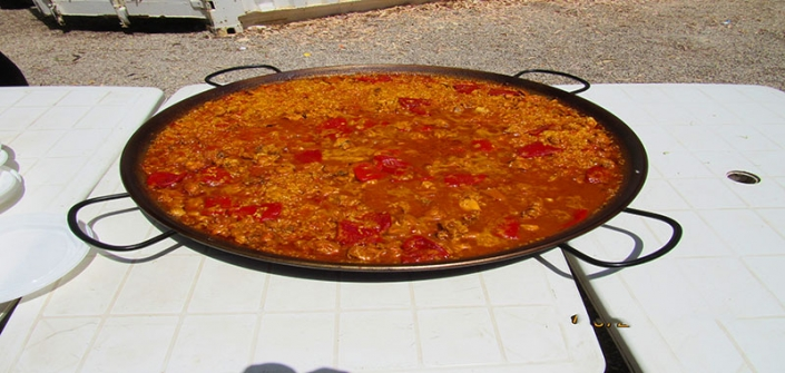 Rafting mas paella
