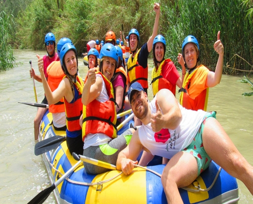 Rafting en Cieza