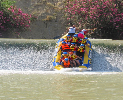 Rafting en Abaran