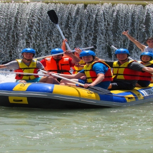 Rafting en Blanca
